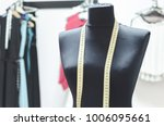 doll in the clothing store... | Shutterstock . vector #1006095661