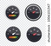 guage icon. credit score... | Shutterstock .eps vector #1006101547