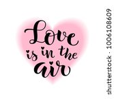 love is in the air. vector...
