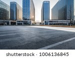 empty road with modern business ... | Shutterstock . vector #1006136845