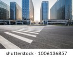 empty road with modern business ... | Shutterstock . vector #1006136857