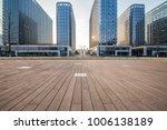 empty floor with modern... | Shutterstock . vector #1006138189