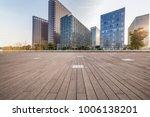 empty floor with modern... | Shutterstock . vector #1006138201