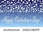 hearts design background.... | Shutterstock .eps vector #1006138699