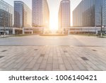 modern building and beautiful... | Shutterstock . vector #1006140421
