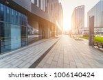 modern building and beautiful... | Shutterstock . vector #1006140424