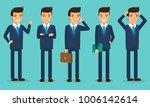 businessman character in flat... | Shutterstock .eps vector #1006142614