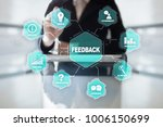 feedback and business... | Shutterstock . vector #1006150699