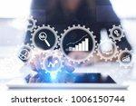 big data analytics. bi business ... | Shutterstock . vector #1006150744