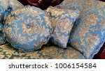 pillow on the classic couch | Shutterstock . vector #1006154584