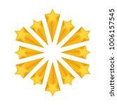 raster copy  shooting stars or... | Shutterstock . vector #1006157545
