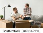 happy married couple having fun ...   Shutterstock . vector #1006160941