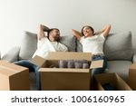 young happy couple feel... | Shutterstock . vector #1006160965