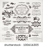 retro elements collection for... | Shutterstock .eps vector #100616305