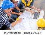 multiethnic diverse team of... | Shutterstock . vector #1006164184
