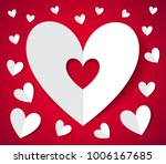 happy valentines day. greeting... | Shutterstock .eps vector #1006167685
