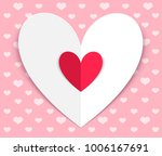 happy valentines day. greeting... | Shutterstock .eps vector #1006167691