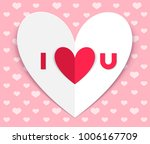 happy valentines day. greeting... | Shutterstock .eps vector #1006167709