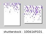 dark purplevector background...