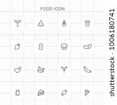 food icons   08 | Shutterstock .eps vector #1006180741