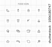food icons   04 | Shutterstock .eps vector #1006180747
