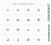 building icons   02 | Shutterstock .eps vector #1006183657