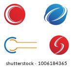 c letter  logo template design... | Shutterstock .eps vector #1006184365