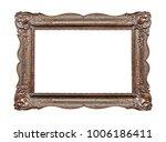 vintage picture frame | Shutterstock . vector #1006186411