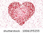 beautiful romantic background... | Shutterstock .eps vector #1006195255