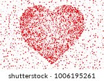 beautiful romantic background... | Shutterstock .eps vector #1006195261