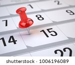 concept of important day ... | Shutterstock . vector #1006196089