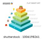 five stages development slide... | Shutterstock .eps vector #1006198261