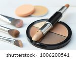 Make Up Brushes And Cosmetics ...