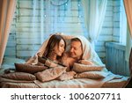 the happy couple in a photo... | Shutterstock . vector #1006207711