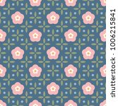 spring floral simple geometric...   Shutterstock .eps vector #1006215841