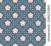 Simple Floral Pattern. Printin...