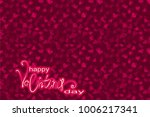 valentine's day background with ... | Shutterstock . vector #1006217341