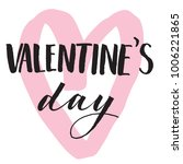 beautiful happy valentines day... | Shutterstock .eps vector #1006221865