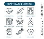 healthcare and medicine icon... | Shutterstock .eps vector #1006222831