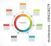 infographic cycle diagram.... | Shutterstock .eps vector #1006228279
