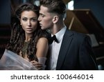 sexy couple | Shutterstock . vector #100646014