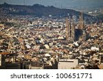 barcelona   august 15  aerial... | Shutterstock . vector #100651771