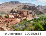 morocco   atlas mountain... | Shutterstock . vector #100653655