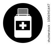 medical icon. vector... | Shutterstock .eps vector #1006541647