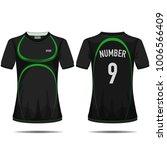 black sport t shirt design.   Shutterstock .eps vector #1006566409