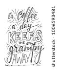 hand lettering quote with... | Shutterstock .eps vector #1006593481