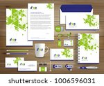 corporate identity business ... | Shutterstock .eps vector #1006596031