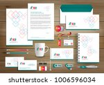 corporate identity business ... | Shutterstock .eps vector #1006596034