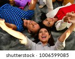 family concept. family is happy ... | Shutterstock . vector #1006599085