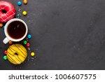 celebration background  top view | Shutterstock . vector #1006607575
